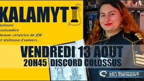 Kalamyti rencontre la Colossus