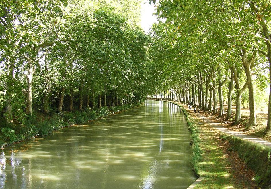 Canal du Midi - 20 mn
