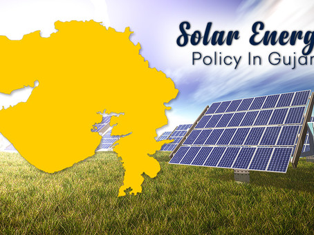 Gujrat Solar Power Policy 2021 announced