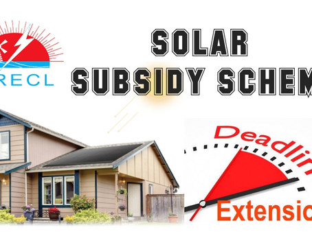 RAJASTHAN SOLAR SUBSIDY SCHEME EXTENDED DUE TO COVID19