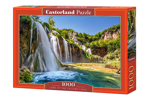 1000PC PUZZLE - LAND OF THE FALLING LAKES - 104185