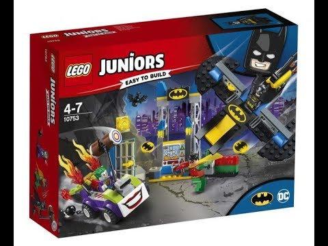 LEGO® JUNIORS - THE JOKER BATCAVE ATTACK