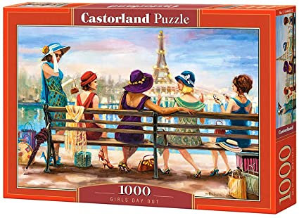 1000PC PUZZLE - GIRLS DAY OUT - 104468