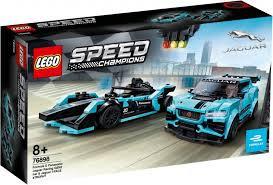 LEGO® SPEED CHAMPIONS - JAGUAR RACING GEN2 CAR & JAGUAR I-PACE E TROPHY - 76898