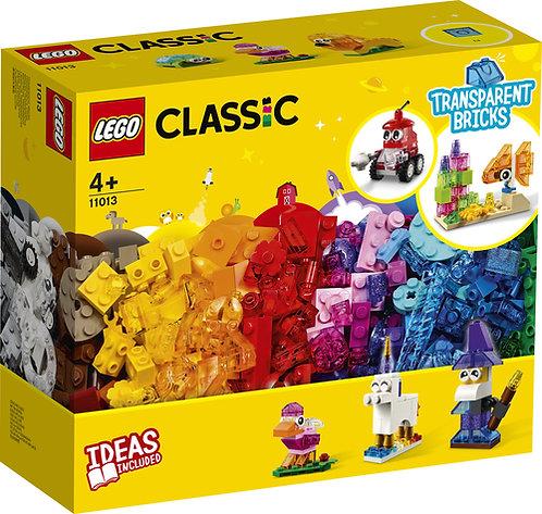 LEGO® CLASSIC - CREATIVE TRANSPARENT BRICKS - 11013