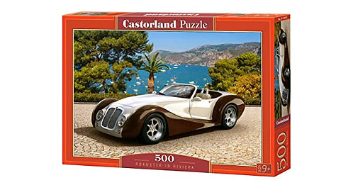 500PC PUZZLE - ROADSTER IN RIVIERA - 53094