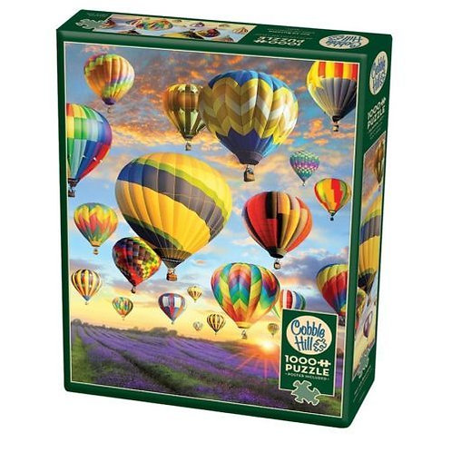 1000PC PUZZLE - HOT AIR BALLOONS - 80025
