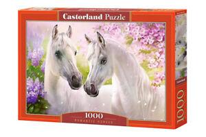 1000PC PUZZLE - ROMANTIC HORSES - 104147