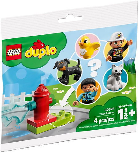 LEGO® DUPLO - 30328 TOWN RESCUE RECRUITMENT PACKET