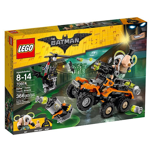LEGO® BATMAN MOVIE - BANE TOXIC TRUCK ATTACK