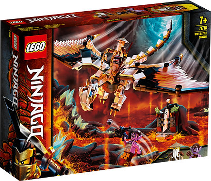 LEGO® NINJAGO - WU'S BATTLE DRAGON - 71718