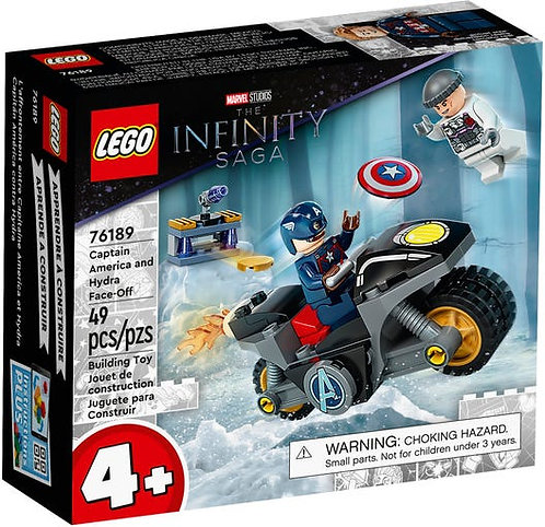 LEGO® SUPER HEROES - CAPTAIN AMERICA AND HYDRA FACE-OFF - 76189