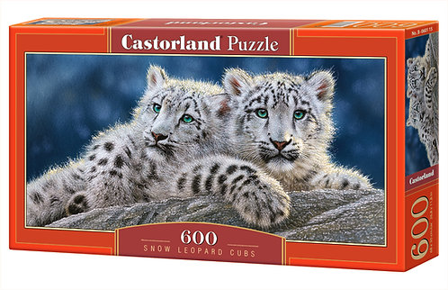 600PC PUZZLE - SNOW LEOPARD - 060115
