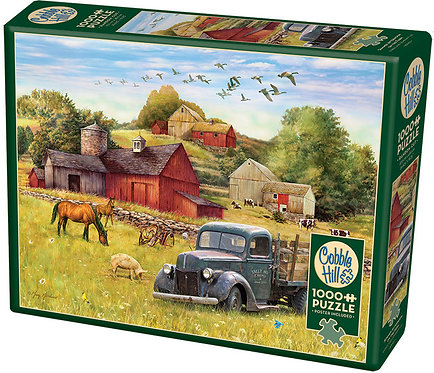 1000PC PUZZLE - SUMMER AFTERNOON ON THE FARM - 80002