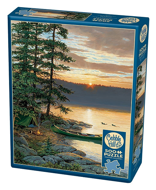 500PC PUZZLE - CANOE LAKE - 85018