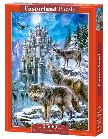 1500PC PUZZLE - WOLFES & CASTLE - 151141