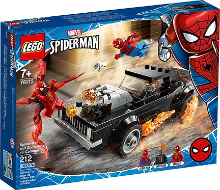 LEGO® SUPER HEROES - SPIDERMAN AND GHOSTRIDER VS CARNAGE - 76173
