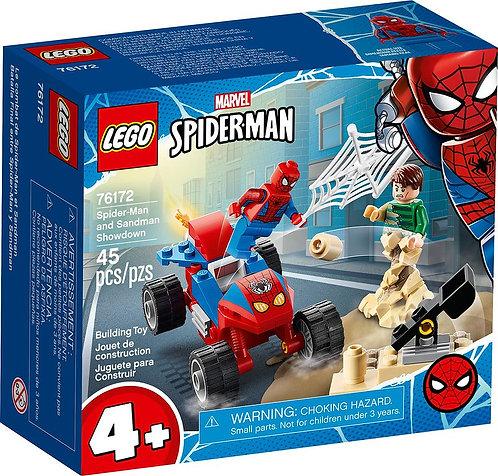 LEGO® SUPER HEROES - SPIDERMAN AND SANDMAN SHOWDOWN - 76172