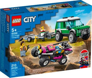 LEGO® CITY - RACE BUGGY TRANSPORTER - 60288
