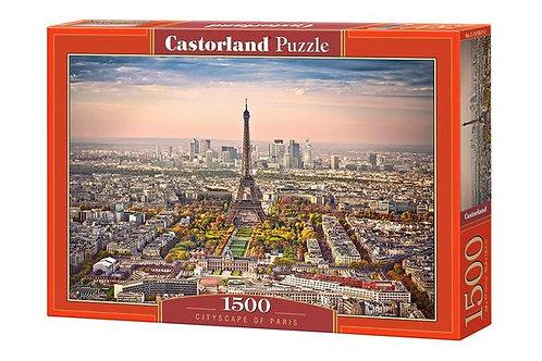 1500PC PUZZLE - CITYSCAPE OF PARIS - 151837