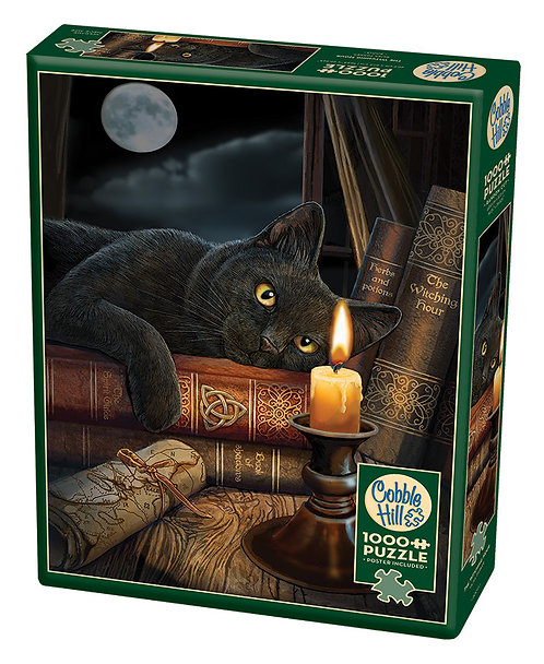 1000PC PUZZLE - THE WITCHING HOUR - 80013
