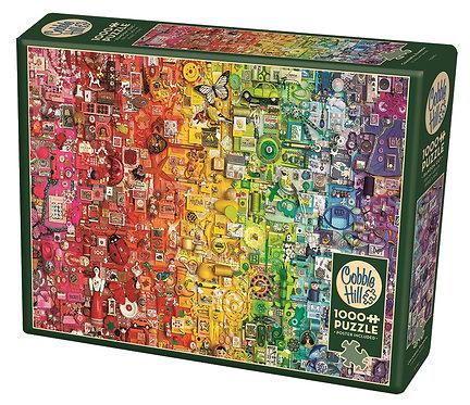 1000PC PUZZLE - COLOURFUL RAINBOW - 80295
