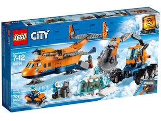 LEGO® CITY - ARCTIC SUPPLY PLANE - 60196