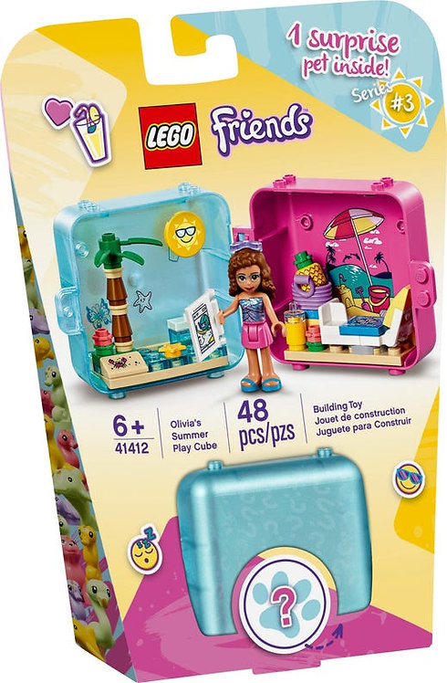 LEGO® FRIENDS - OLIVIA'S SUMMER PLAY CUBE -41412