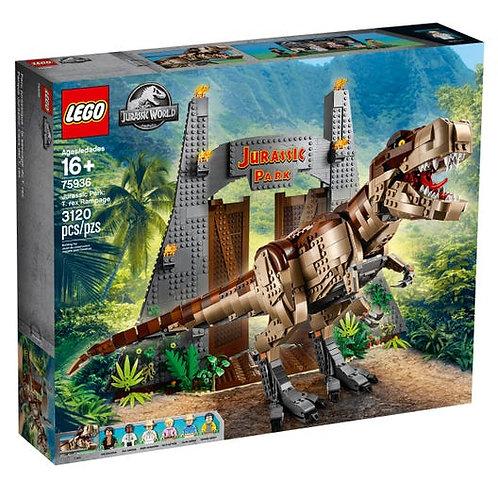 LEGO® JURASSIC WORLD - JURASSIC PARK: T.REX RAMPAGE - 75936
