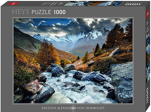 1000PC PUZZLE -MOUNTAIN STREAM - 29712