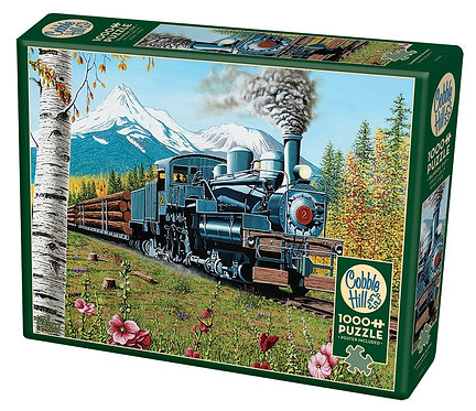 1000PC PUZZLE - LUMBERING ALONG - 80169