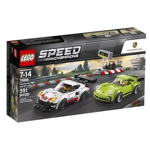 LEGO® SPEED CHAMPIONS - PORSCHE 911 RSR + 911 TURBO