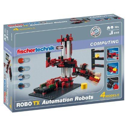 FISCHER TECHNIK - COMPUTING - ROBO TX AUTOMATION ROBOTS
