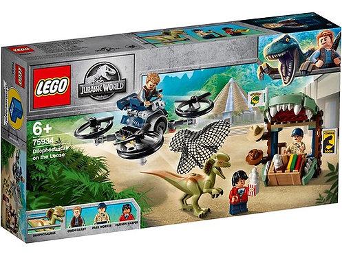 LEGO® JURASSIC WORLD - DILOPHOSAURUS ON THE LOOOSE - 75934