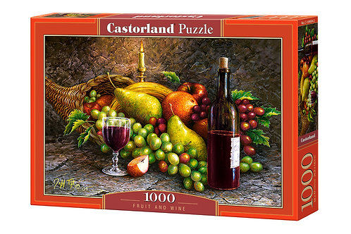 1000PC PUZZLE - FRUIT AND WINE - 104604