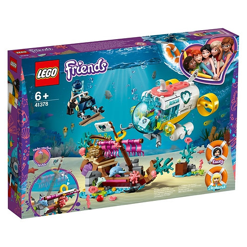 LEGO® FRIENDS - DOLPHINS RESCUE MISSION - 41378 - 41378