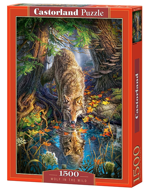 1500PC PUZZLE - WOLF IN THE WILD - 151707