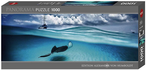 1000PC PUZZLE - STINGRAY - 29470
