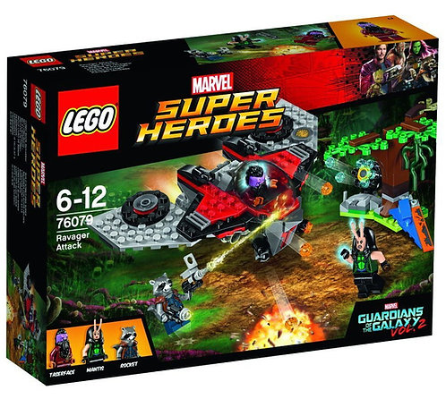 LEGO® SUPER HEROES - RAVAGER ATTACK