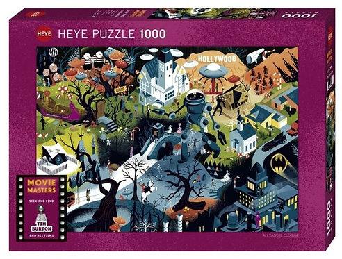 1000PC PUZZLE - TIM BURTON FILMS - 29882