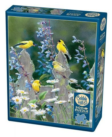 500PC PUZZLE - GOLDFINCH QUARTET - 85037