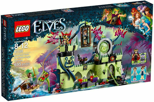 LEGO® ELVES - BREAKOUT FROM THE GOBLIN KING'S FORTRESS- 41188