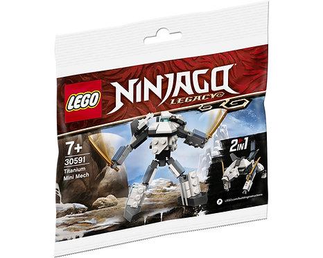 LEGO® NINJAGO - TITANIUM MINI MECH - 30591