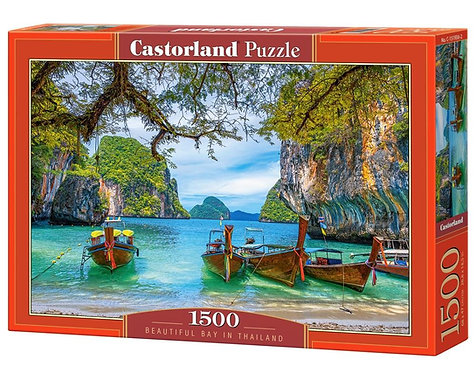1500PC PUZZLE - BEAUTIFUL BAY IN THAILAND - 151936