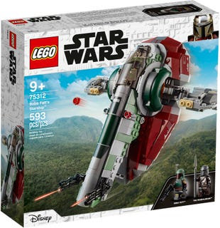 LEGO® STAR WARS - BOBA FETT'S STARSHIP - 75312