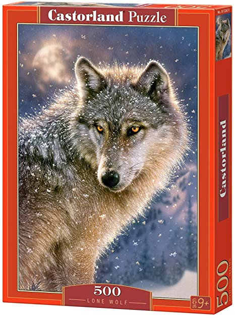500PC PUZZLE - LONE WOLF - 52431