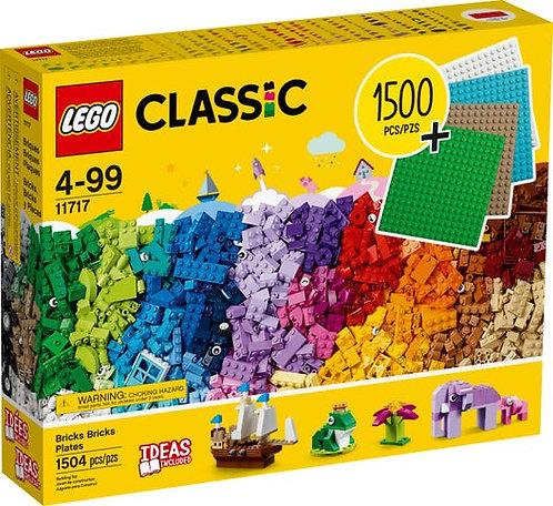 LEGO® CLASSIC - BRICKS,BRICKS,PLATES - 11717