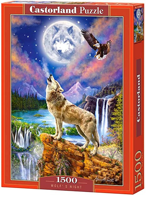 1500PC PUZZLE - WOLF'S NIGHT - 151806