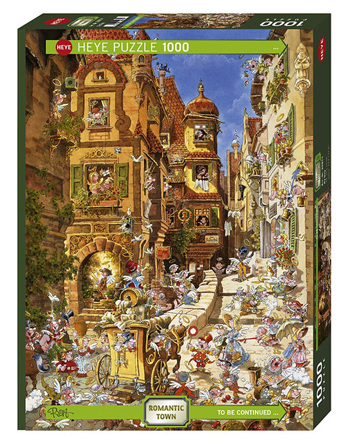 1000PC PUZZLE - TOWN BY NIGHT - 29875
