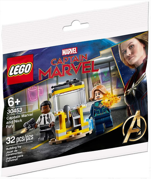 LEGO® SUPER HEROES - CAPTAIN MARVEL AND NICK FURY - 30453
